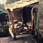 All good in the wood projects Log shed