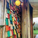 All Good in The Wood rainbow shingles
