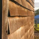 All Good in The Wood- English Oak Feathered Cladding projects