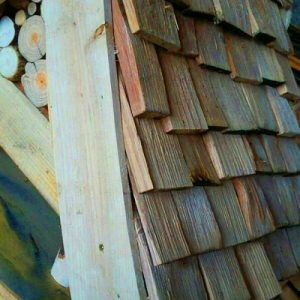 All Good in the Wood projects Bird house shingles 2