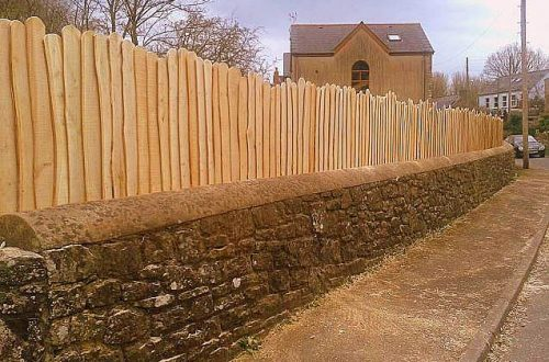All Good in the Wood Fencing posts