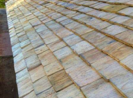 All Good in the Wood - Handmade sweet chestnut Shingles