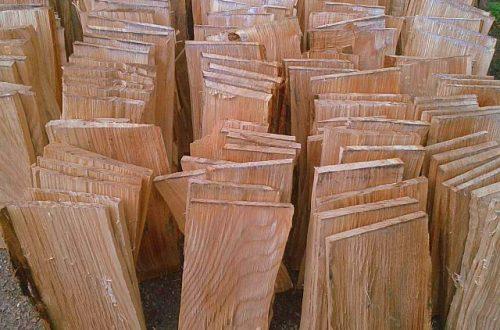 All Good in the Wood Hand clefted (handmade oak) oak shingles 2