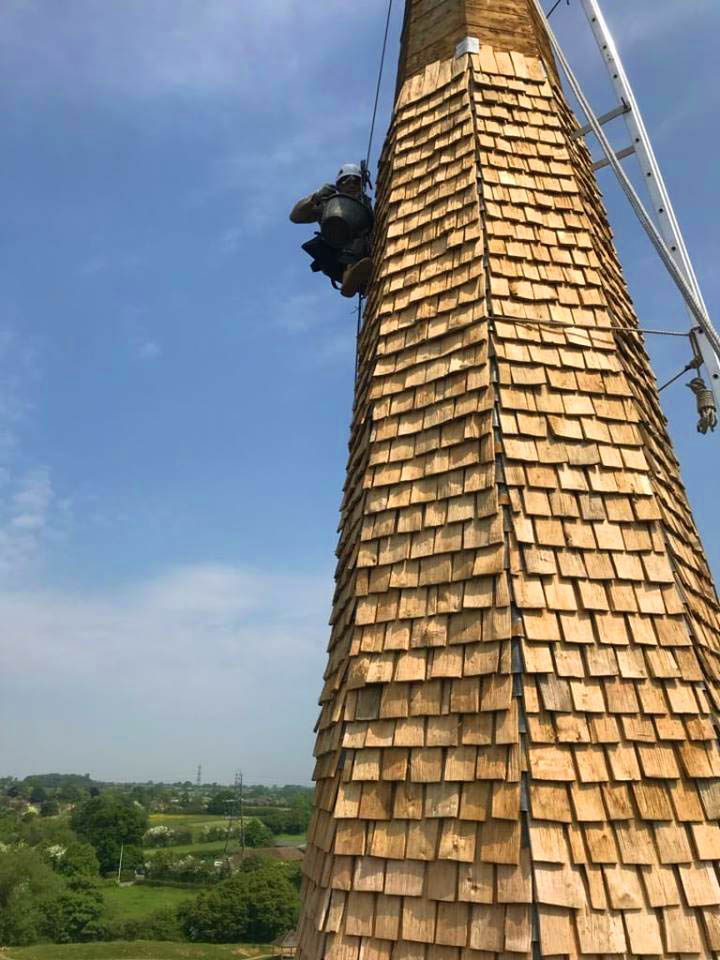 All Good in the Wood Oak Shingles - English Conservation and Heritage Westbury -on-Severn