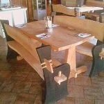 All Good in the Wood projects furniture - table and chairs