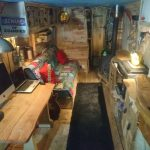 All Good in the Wood Glamping - Creations - contact Caravan conversion