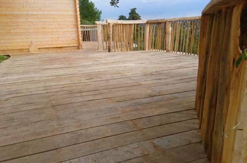 All Good in the Wood hardwood decking